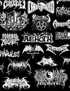 black death thrash metal goth gothic punk naszywki...