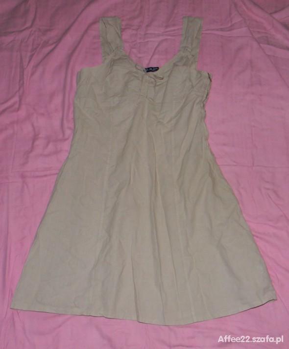 Suknie i sukienki Sukienka płótno krótka S M