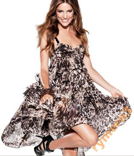 Imprezowe h&m asymetryczna sukienka