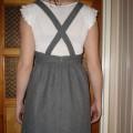 Śliczna szara sukienka Solar