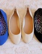 Kolorowe balerinki...