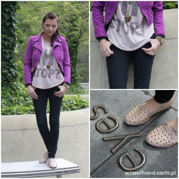 Mój styl Casual purple