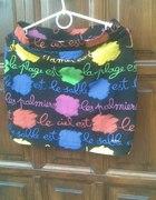 kolorowa spodniczka
