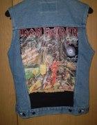 Kamizelka jeansowa IRON MAIDEN...