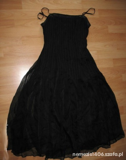 Suknie i sukienki Czarna zwiewna goth