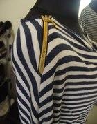 tunika sukienka marynarska zip s m l