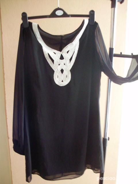 Suknie i sukienki Sukienka mgiełka czarna F F