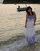 hawajska sukienka