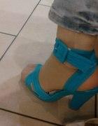 BATA sandały niebieskie...