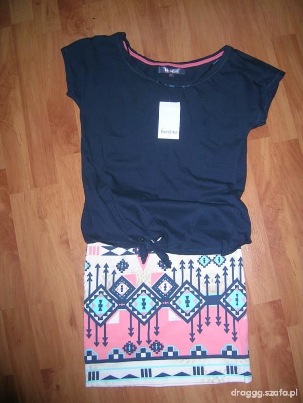 Spódnice Spódniczka i bluzka bershka