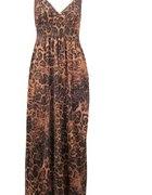 Sukienka Leopard Maxi Dress