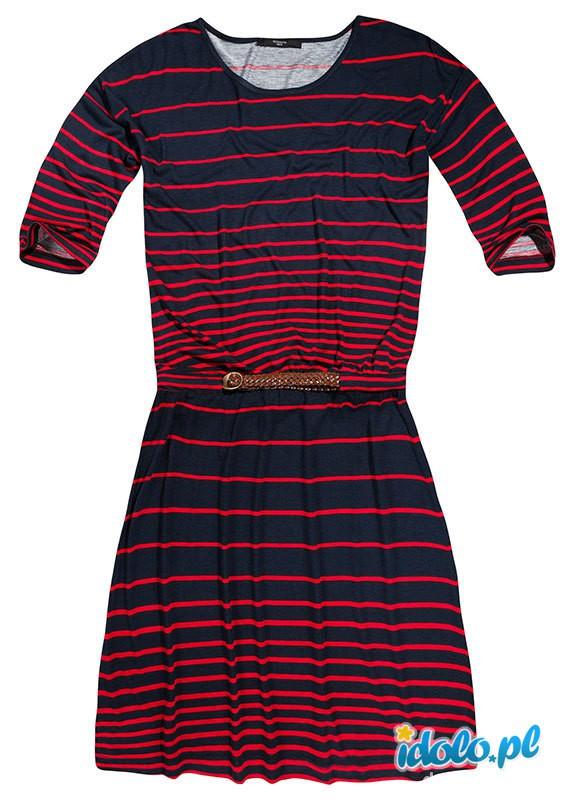 Suknie i sukienki sukienka reserved paski 36 S