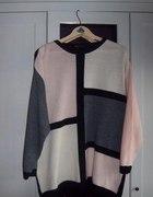 sweter w stylu lat 80