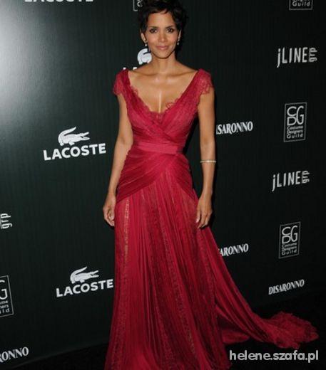 Wasze inspiracje Czerwona sukienka z trenem