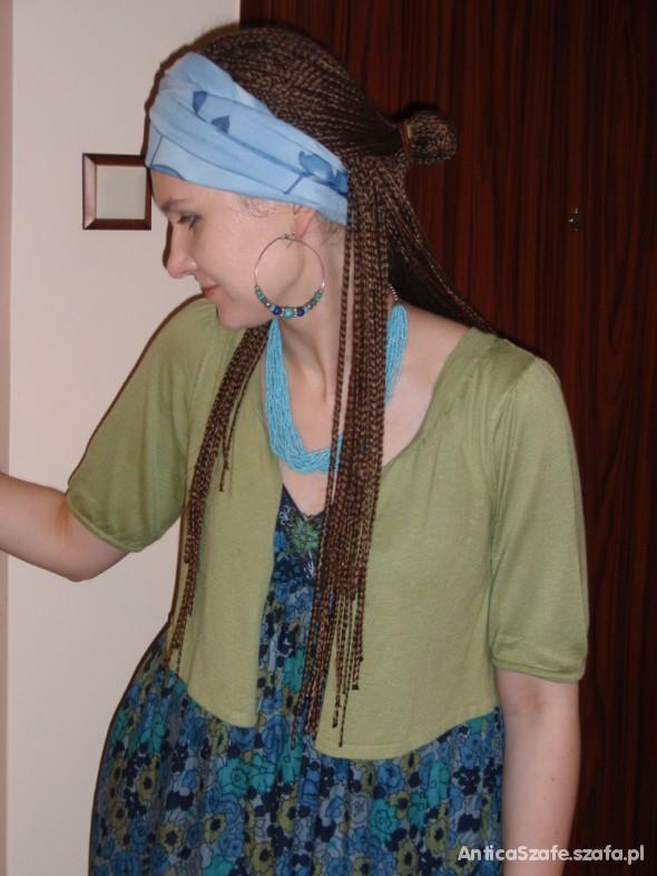 Mój styl Deszczowa sukienka
