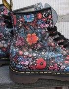 Martensy Glany Floral Kwiatki 37