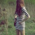 tunika sukienka w paski Hit lata
