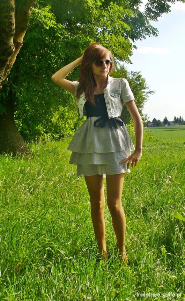 Mój styl Katanka i sukienka
