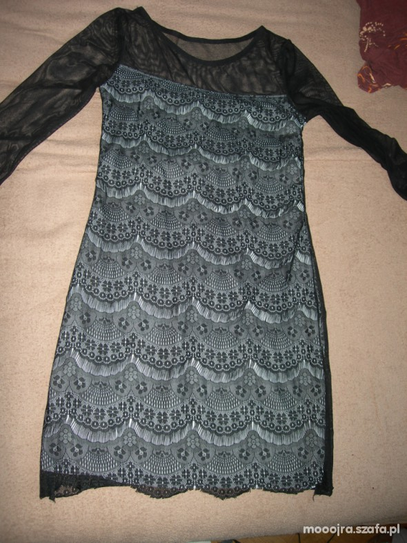 Suknie i sukienki Sukienka koronkowa
