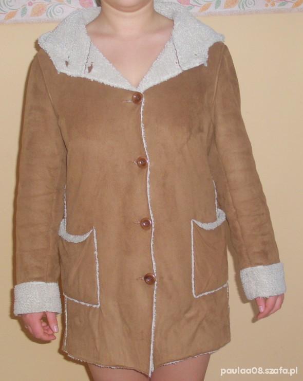 kurtka zimowa kożuch