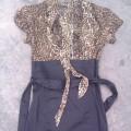 Sukienka panterka Terranova S