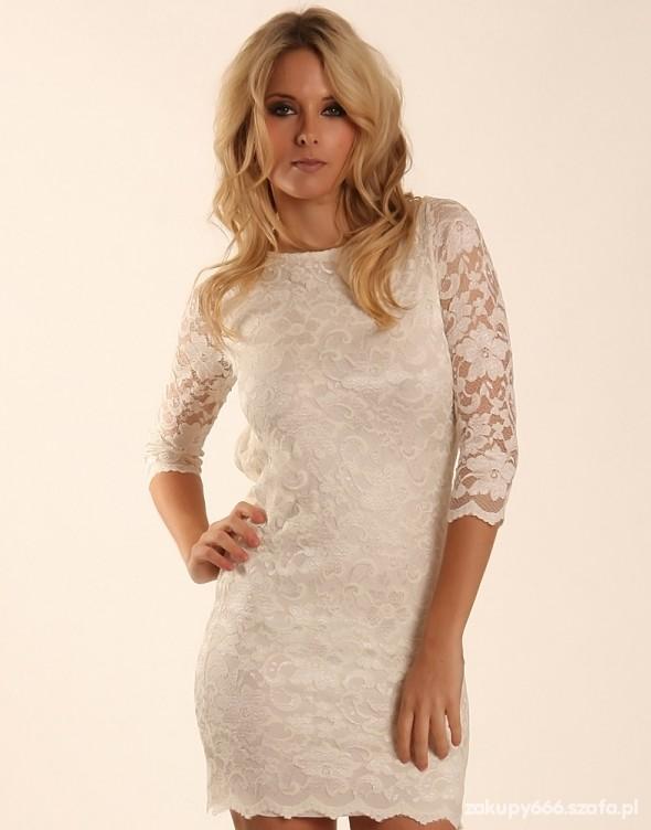 Sukienka koronkowa new look...