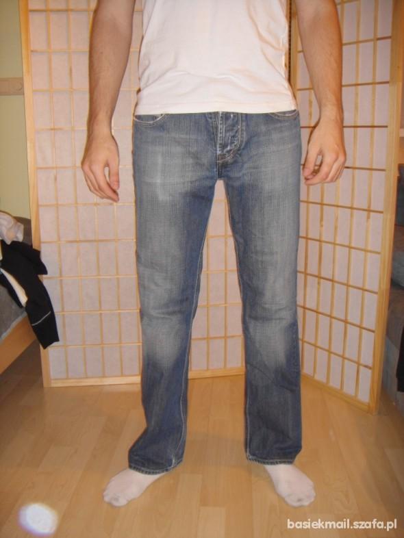 Spodnie MESKIE spodnie jeans SMOG S M new yorker