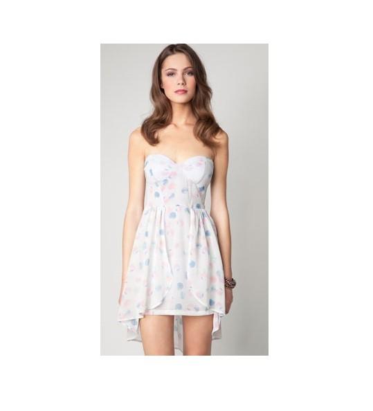 Suknie i sukienki Sukienka asymetryczna bershka gorset M