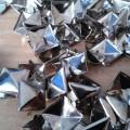 ćwieki piramidki 100 sztuk srebrne niklowane 11 11