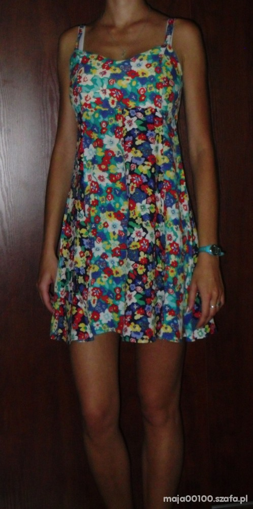 Suknie i sukienki sukienka letnia floral