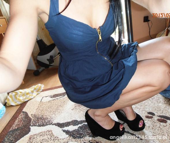 Mój styl sukienka zip kopytka