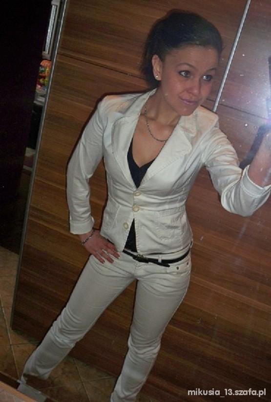 Eleganckie biało mi