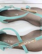miętowe nowe sandały 36 37 38 39 40 41