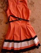 Sukienka na komunię chrześniaczki