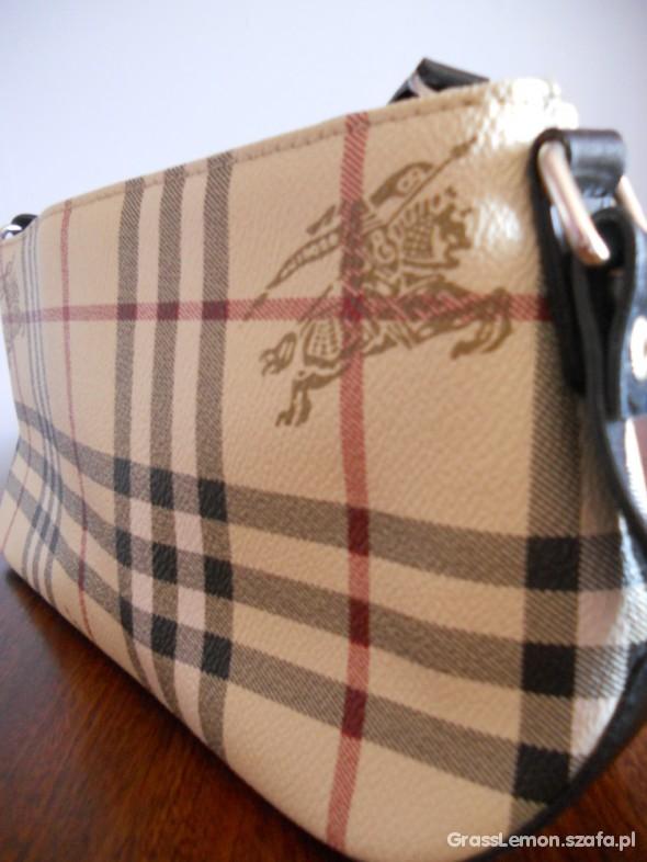 Wszystkie nowe BURBERRY torebka w kratkę wysyłka gratis w Torebki na co dzień WU71