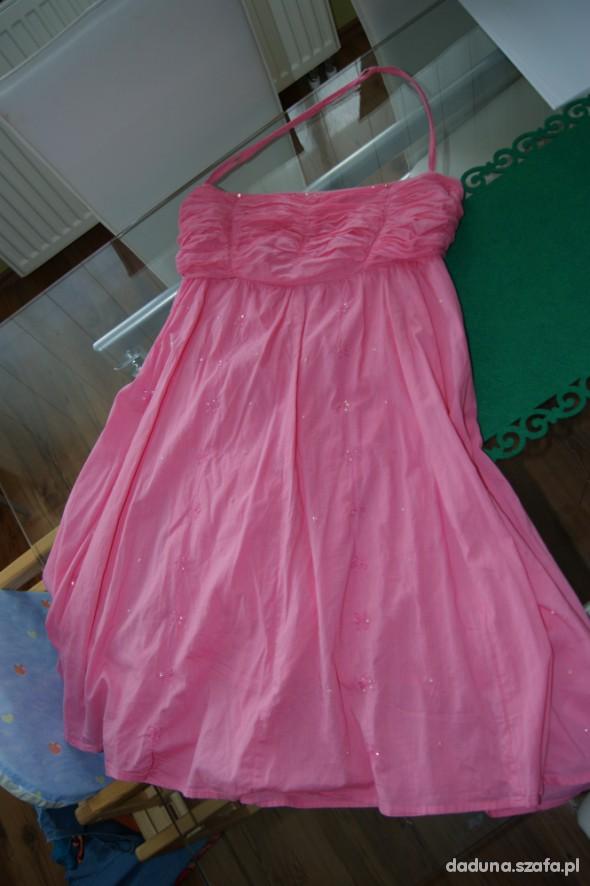 Suknie i sukienki RIVER ISLAND 40 42 RÓŻOWA