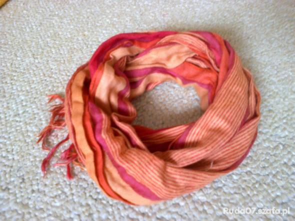 Chusty i apaszki Pomarańczowa chustka