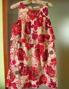 Sukienka w kwiaty 36 38