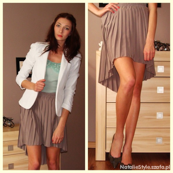 Eleganckie Asymetryczna spódnica