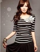 bluzeczka japan style w paski