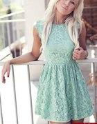 koronkowa sukienka H&M 34 36