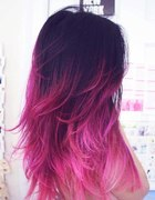 Kolorowe Ombre hair