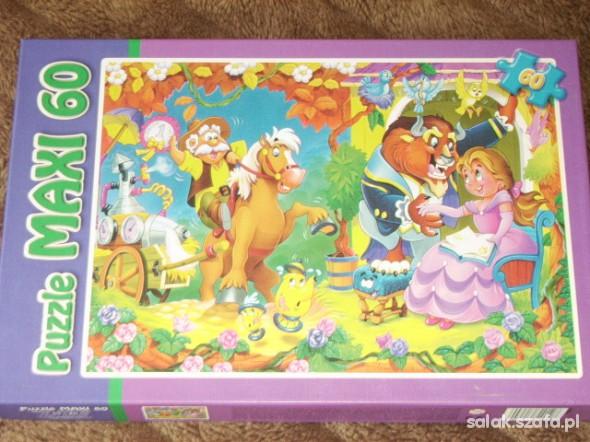 Zabawki Nowe Puzzle maxi 60