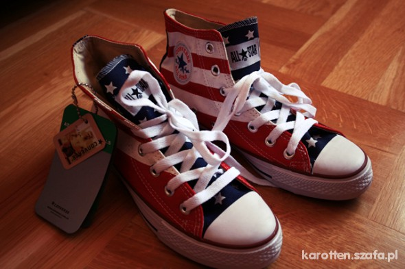 cceaef9a converse american flag w Trampki - Szafa.pl