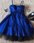 Cudowna sukienka na wieczór rocknroll szyta...