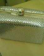 mini srebrna torebka top secret