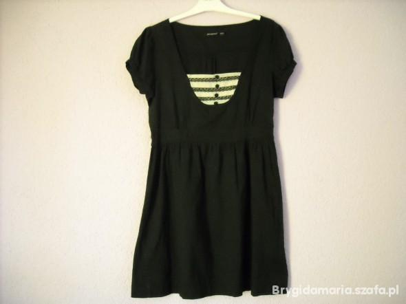 Suknie i sukienki zwiewna czarna letnia 44