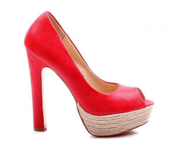 piękne czerwone