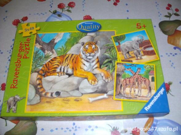 Zabawki Puzle 3 x49
