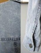 krótka kurta jeansowa
